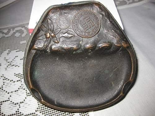 NSDAP ashtray?