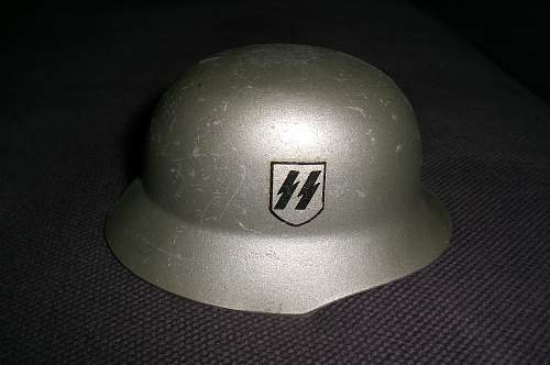 Cool Gift from German Pal Tank & SS Helm