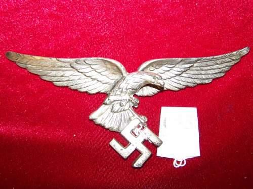 Goering staff car  badge