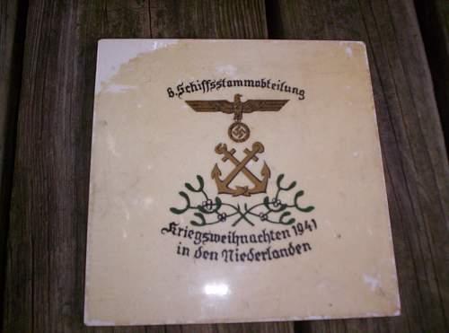 Need help with weird Kriegsmarine tile. Any ideas?