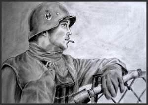 Waffen SS paintings
