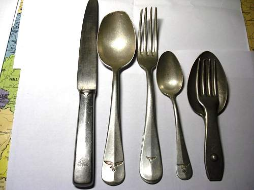Luftwaffe spoons and forks