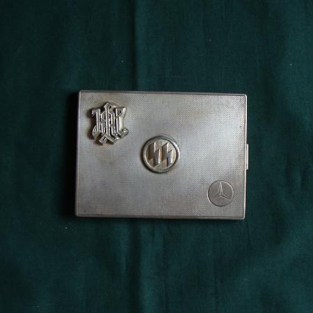 LAH Silver Cigarette Case