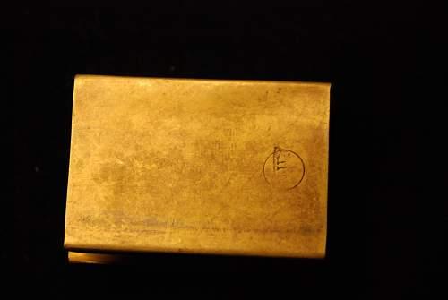 Luftwaffe, matchbox case