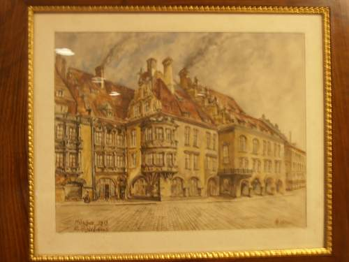 Click image for larger version.  Name:HITLER WATERCOLOR 002.jpg Views:1197 Size:115.0 KB ID:421165