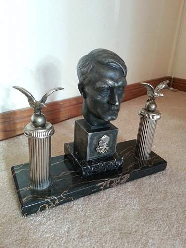Hitler Bust presentation piece