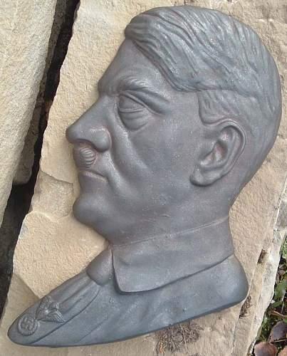 Adolf Hitler Wall Relief