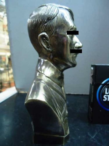 Adolf Hitler bronze bust, original?