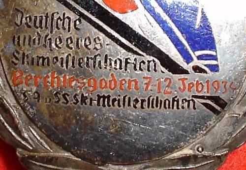 Ski-Championships Berchtesgaden 1934