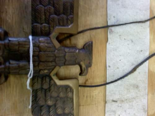 desk/ wall eagle REAL.... or FANTASY piece
