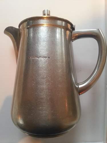 Tea Pot SS Verwaltung Obersalzberg