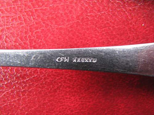Opinion on some WMF SS marked teaspoons