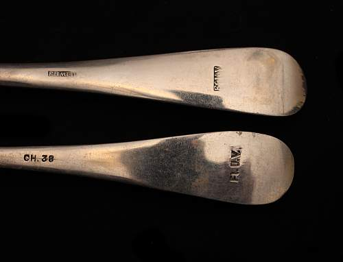 Luftwaffe Cutlery, authentic?