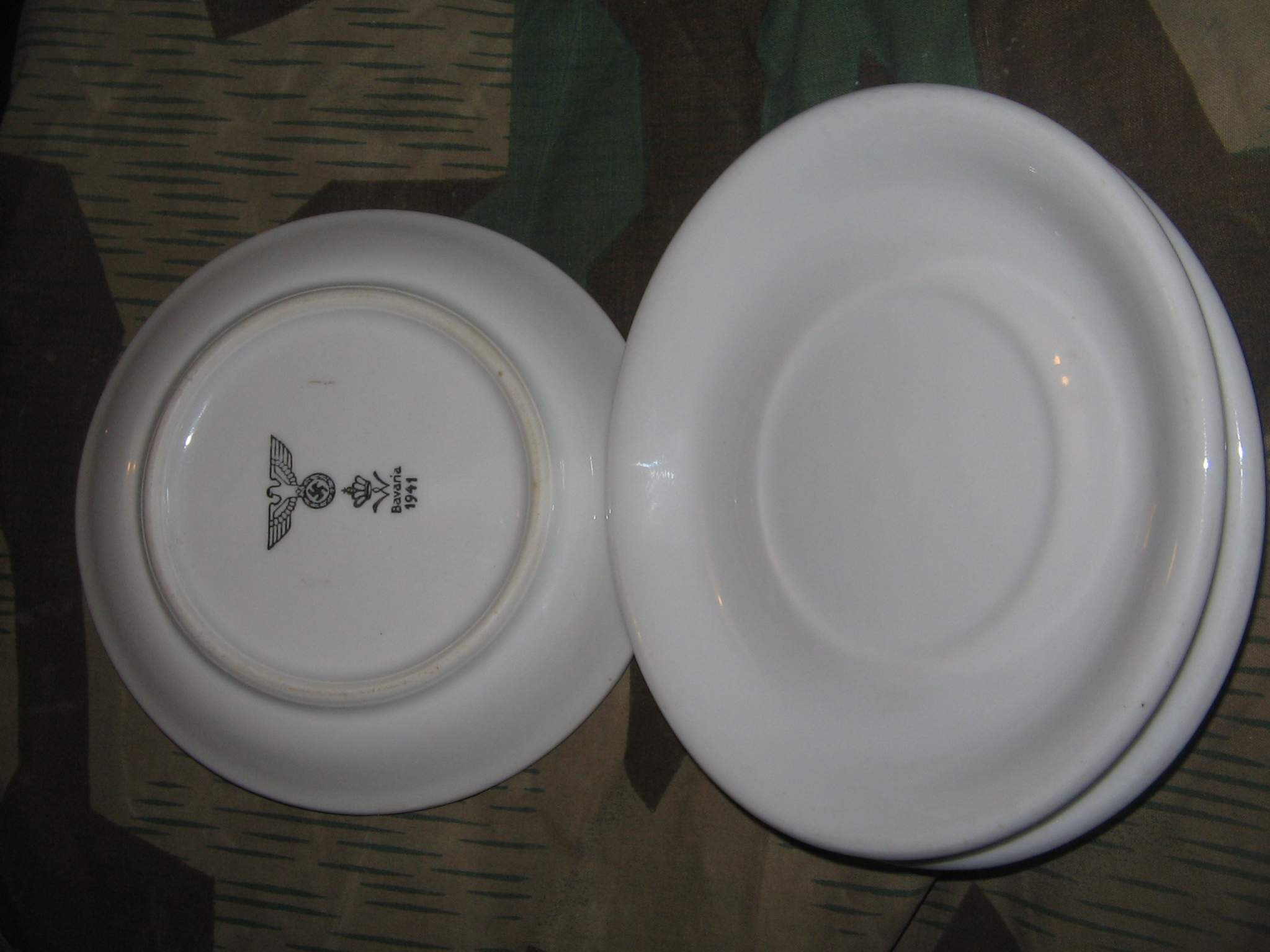 Some more German WWII plates. & Some more German WWII plates...