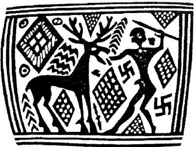 Horse with Swastika