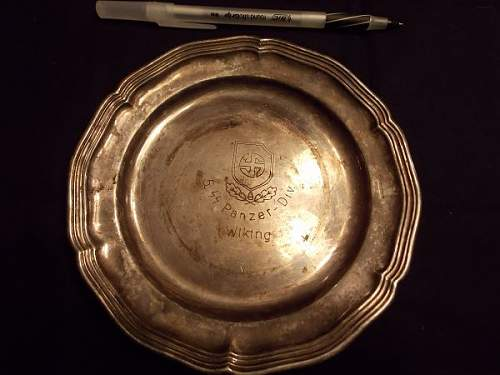 Wiking & Nordland silver plates?