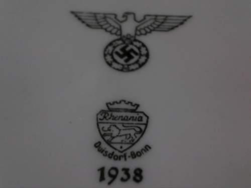 Nazi-Germanhy Dining Bowl Markings??