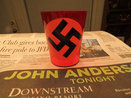 NSDAP Candle holder find.