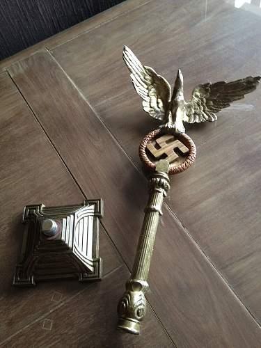 Unique german eagle desk ornament