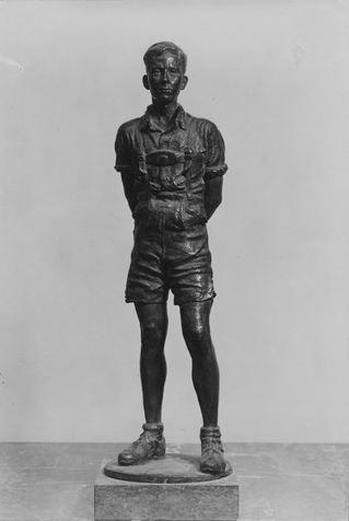 Any information on Fritz Best's Hitlerjugend bronze statuette?