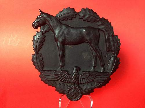 Plaque for Donation of Horses