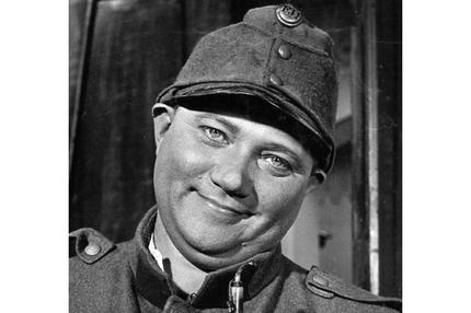 Winston Churchill in German uniform figurine