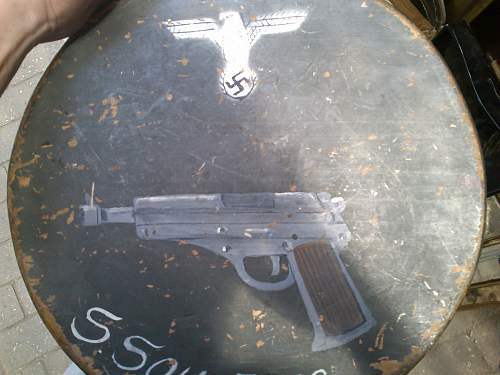 Real German painting? (walther 38?)