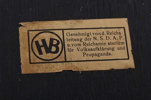 Third Reich art by Schmidt-Hofer = Otto Schmidt Hofer?