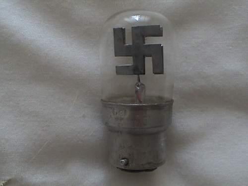 swastika lightbulb