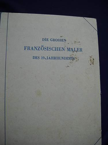 Adolf Hitler Book from his personal library