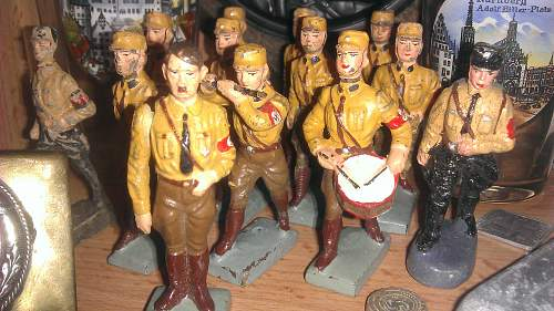 Selection of Third Reich Lead Figure of the SA, SS and Adolf Hitler himself!