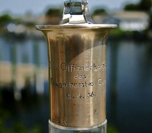 Possible purchase Das Officierkorps Crystal decantor