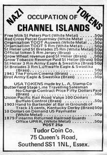 Channel Island fantasy tokens