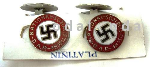 Nsdap cufflinks original?