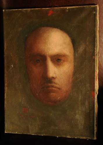 Painting by Hitler made in Paraguay 1960 ? Pls help