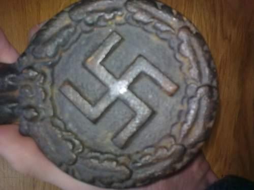 Third Reich eagle. Need Help!