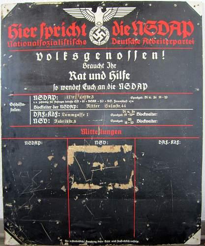 """""""Hier spricht die NSDAP"""""""
