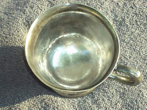 German cup with swastika ??
