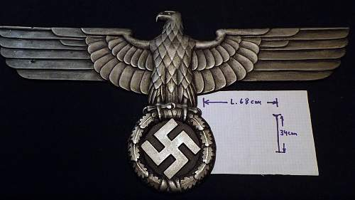 Hoheitsadler Reichsbahn for Lokomotive ?!