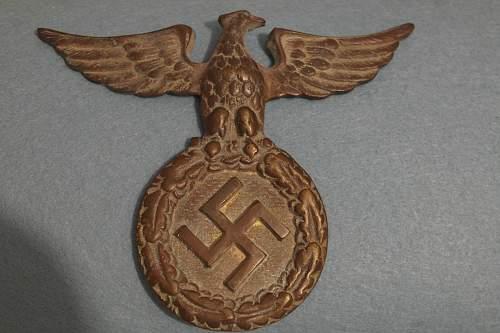 Unknown metal eagle found in Crete!