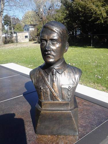 Authentic Hitler Bust?