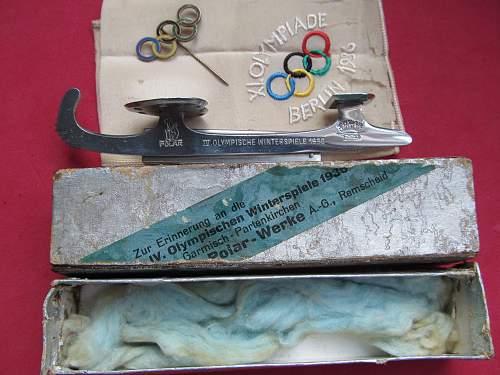 Olympic Ice Skate - Mini - 1936