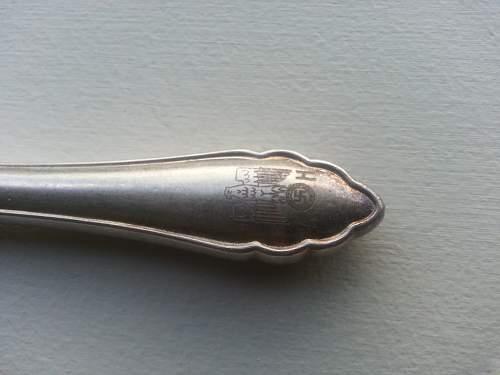 Adolf Hitler Formal tableware knife?