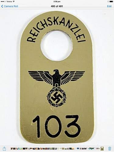 Reichkanzlei coat check
