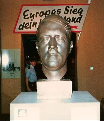 large Hitler bronze bust