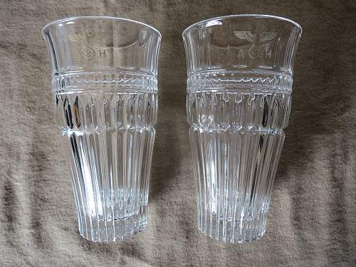Need help on the Adolf Hitler glassware