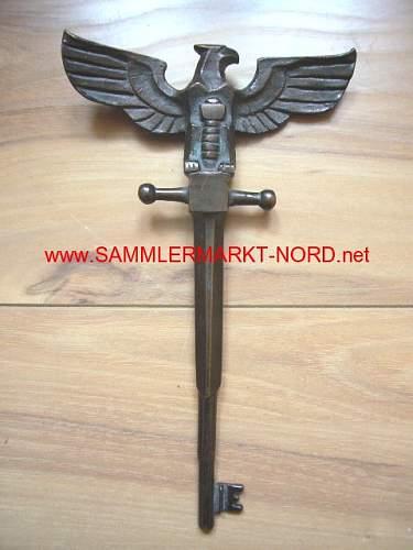 BIG Nazi Steel Key????