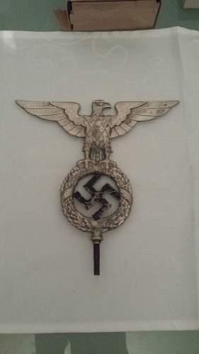 NSDAP Flag pole top