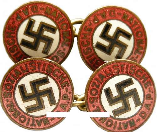 Nsdap cufflinks original?