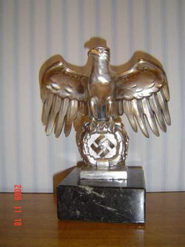 Nuremberg-style eagle